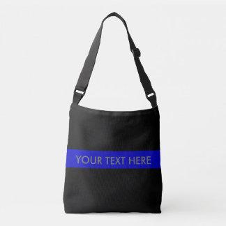 Thin Blue Line Crossbody Bag