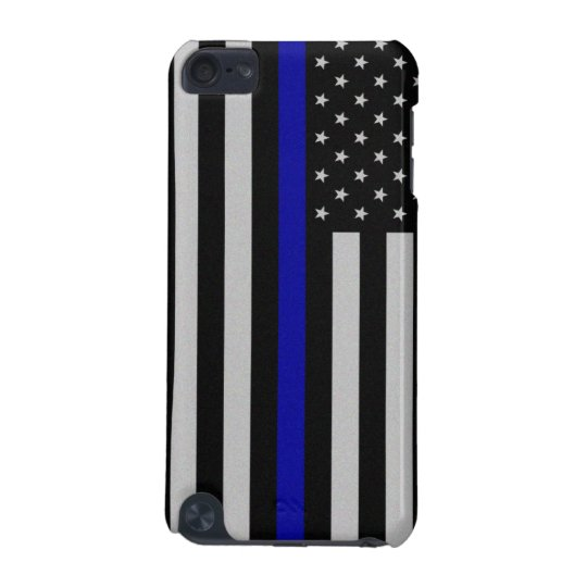 Thin Blue Line Flag iPod Touch 5g Case
