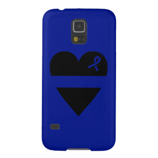 Thin Blue Line Heart Galaxy 5 Case