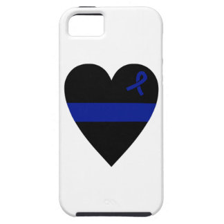 Thin Blue Line Heart iPhone 5 Case