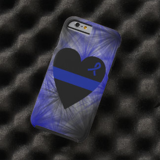 Thin Blue Line Heart iPhone 6 Case