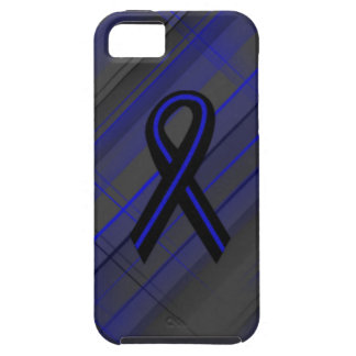 Thin Blue Line iPhone 5 Case