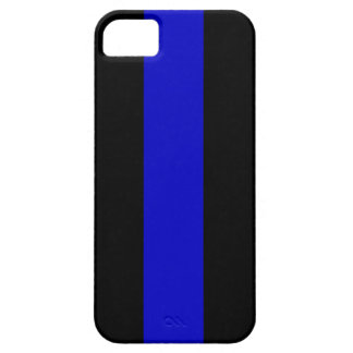 Thin Blue Line iPhone 5 Cases