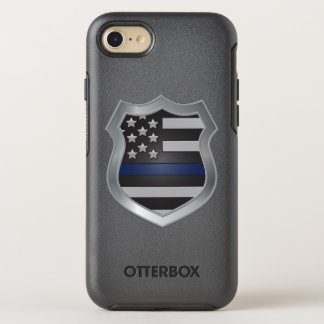 Thin Blue Line iPhone 7 case