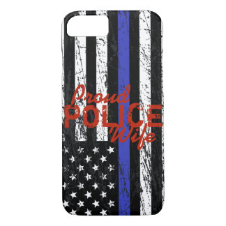 Thin Blue Line iPhone 8/7 Case