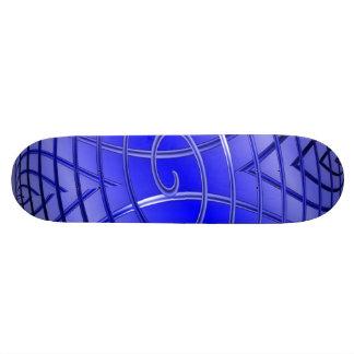 Thin Blue Line Iron Works Custom Skateboard