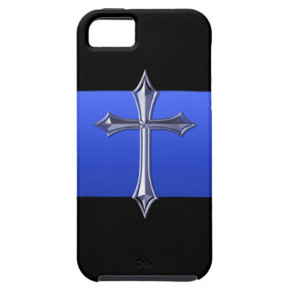 Thin Blue Line LE Prayer For Safety Symbol iPhone 5 Covers