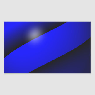 Thin Blue Line One-of-a-Kind Stickers