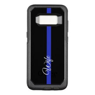Thin Blue Line OtterBox Samsung Galaxy S8 Case