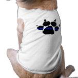 Thin Blue Line Paw K-9 Shirt Sleeveless Dog Shirt