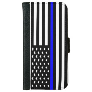 Thin Blue Line Phone Wallet