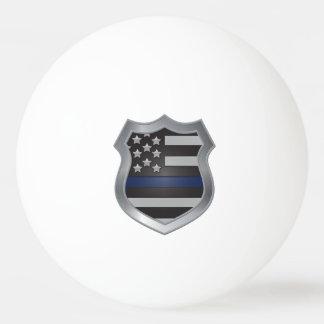 Thin Blue Line Ping Pong Balls