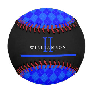 Thin Blue Line Police Anniversary Custom Baseballs