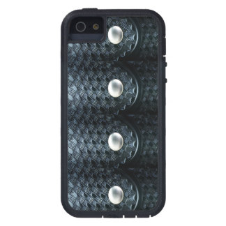 Thin Blue Line - Police Basket Weave Belt Keepers iPhone 5 Cases