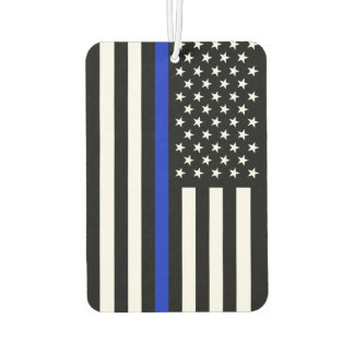 Thin Blue Line Police Flag