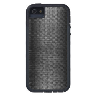 Thin Blue Line - Police Leather Small Basket Weave iPhone 5 Cases