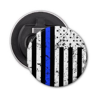 Thin Blue Line - Police Officer - bottle opener