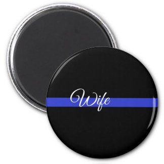 Thin Blue Line: Police Wife Magnet