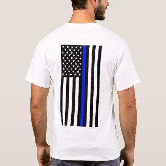 Thin Blue Line T-Shirt - Back