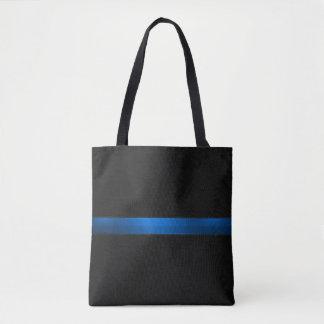 Thin Blue Line Tote Bag