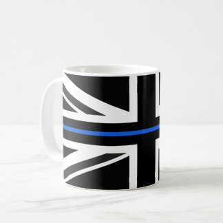 Thin Blue Line UK Flag Coffee Mug