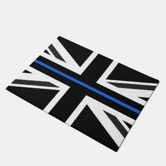 Thin Blue Line UK Flag Doormat