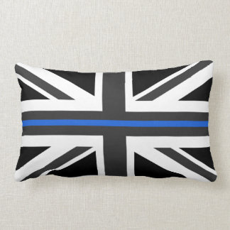 Thin Blue Line UK Flag Lumbar Cushion