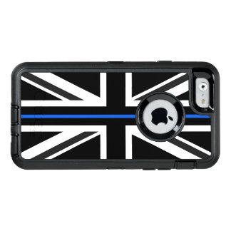 Thin Blue Line UK Flag OtterBox Defender iPhone Case