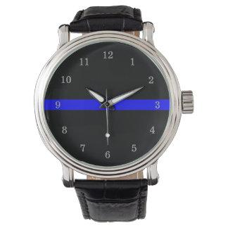 Thin Blue Line Watch