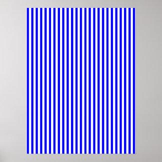 Thin Blue Stripes Poster