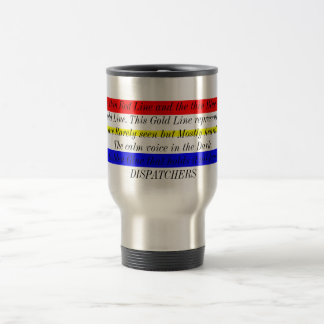Thin Gold Line Travel Mug