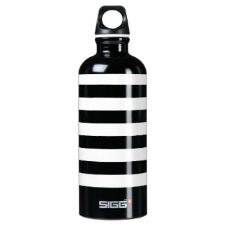 Thin Horizontal Stripes Aluminum SIGG Traveller 0.6L Water Bottle