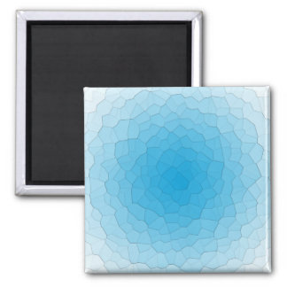 Thin Ice Square Magnet