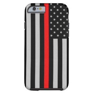 Thin Red Line iPhone 6 Case Tough iPhone 6 Case