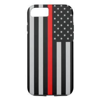Thin Red Line iPhone 7 Case