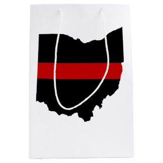 Thin Red Line Ohio Gift Bag