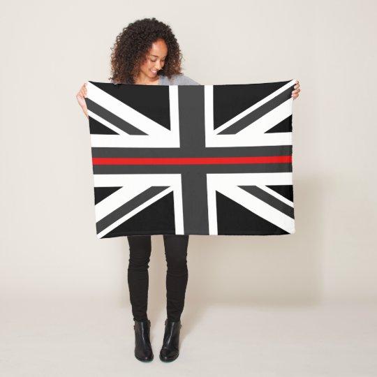 Thin Red Line UK Flag Fleece Blanket