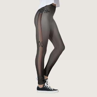 Thin Skin Black Leggings