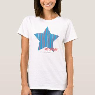 Thin Stripes Aqua 2 T-Shirt