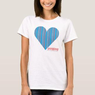 Thin Stripes Aqua 3 T-Shirt