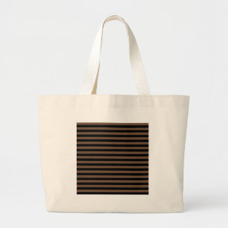 Thin Stripes - Black and Coffee Bags