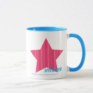 Thin Stripes Magenta 3 Mug