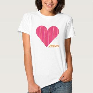 Thin Stripes Magenta 4 T Shirts