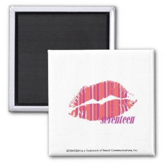 Thin Stripes Pink Magnet