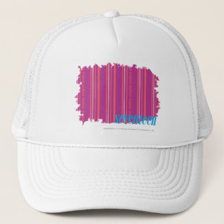 Thin Stripes Purple 2 Trucker Hat