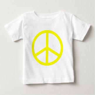 Thin Yellow Peace Sign Shirts