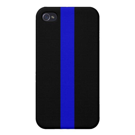 ThinBlueLine2 iPhone 4 Case