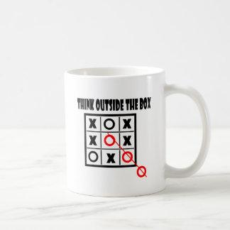 Thing outside the box mugs