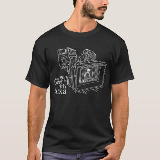 """""""things go better with alexa"""" Black T-shirt"""