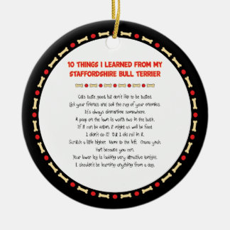 Things I Learned From Staffordshire Bull Terrier Christmas Tree Ornament